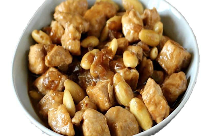 Escalopes de poulet aux amandes