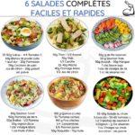 6 salades healthy faciles et rapides